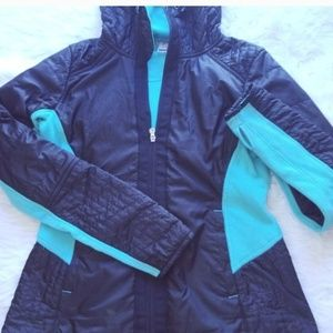 Avalanche Teal /Black Jacket with insulation M